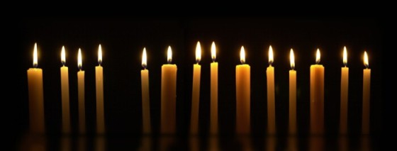 lineofcandles
