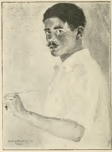 HENRY MARTYN HOYT (Self portrait)